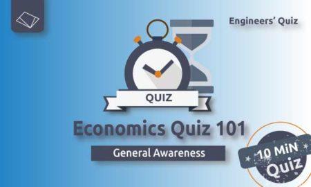 Economics Quiz 101 SSC-JE-SERIES