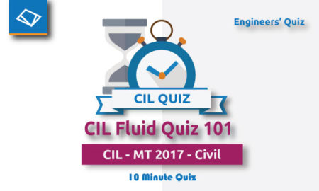 CIL Fluid Quiz
