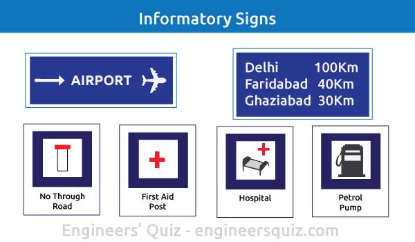 traffic sign - informative sign