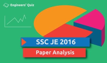 ssc je civil paper analysis